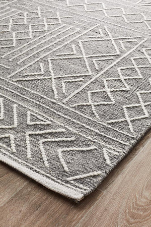 George EightOSeven Grey Rug