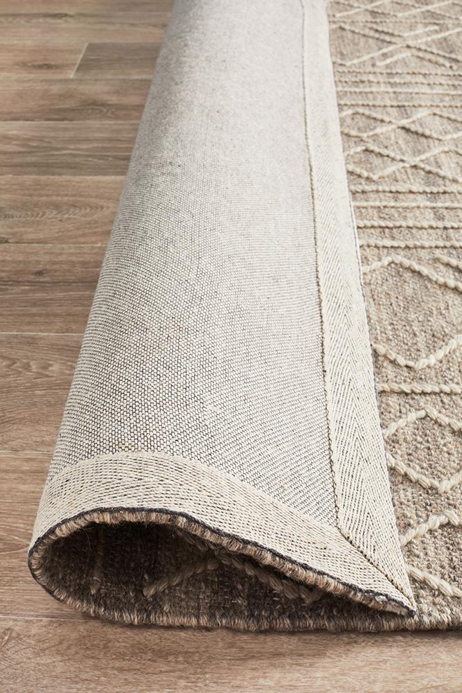 George EightOSeven Natural Rug