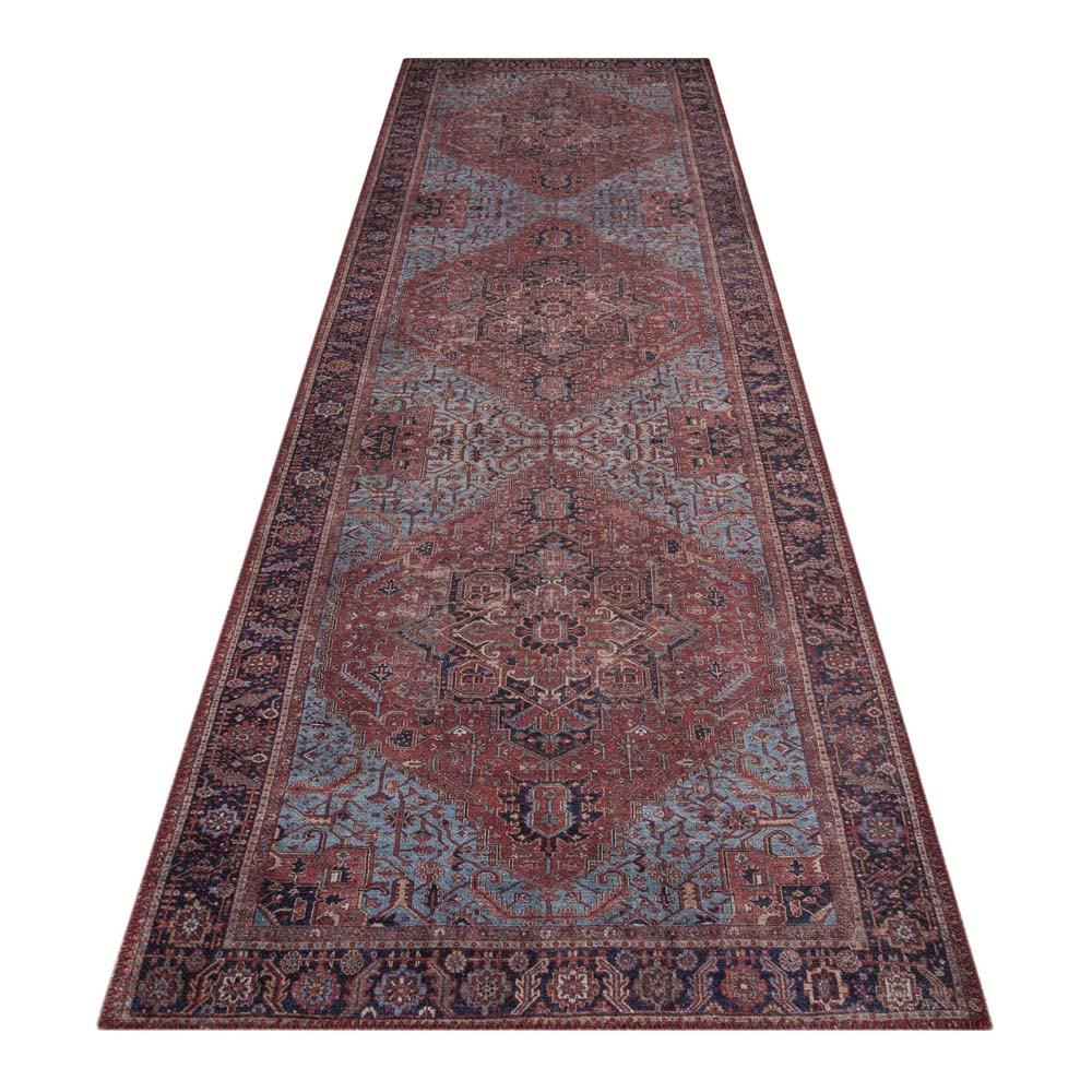 Hyla Truss Red Runner Rug