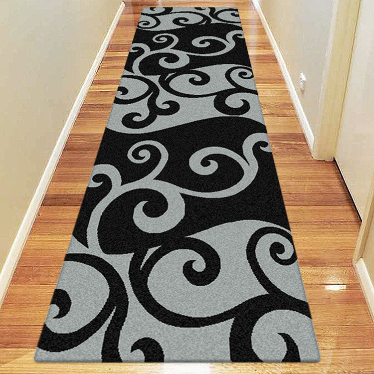 Royal Supreme Black Runner Rug