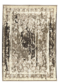 Stylish Overdyed Look Rug Grey