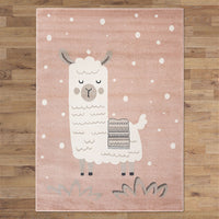KidsZoo Sheep Pink Rug