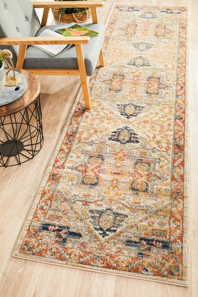 Bequest Heirloom Rust Runner Rug