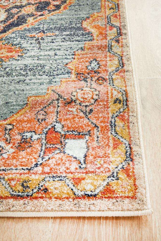 Bequest Memorial Rust Runner Rug