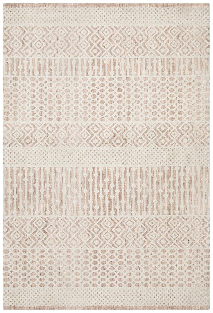 Denim Melon Peach Ivory Rug