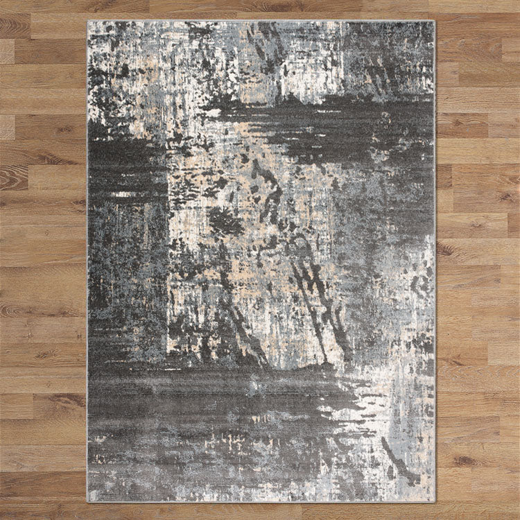 Lotos Brink Grey Runner Rug