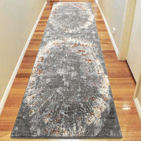 Lotos Beaut Light Grey Runner Rug