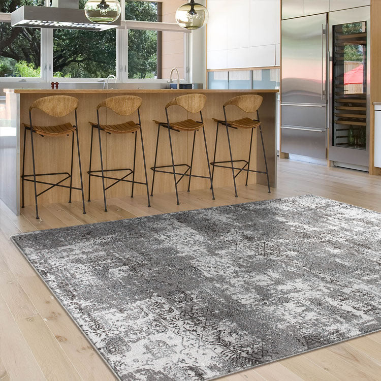 Lotos Bound Grey Rug