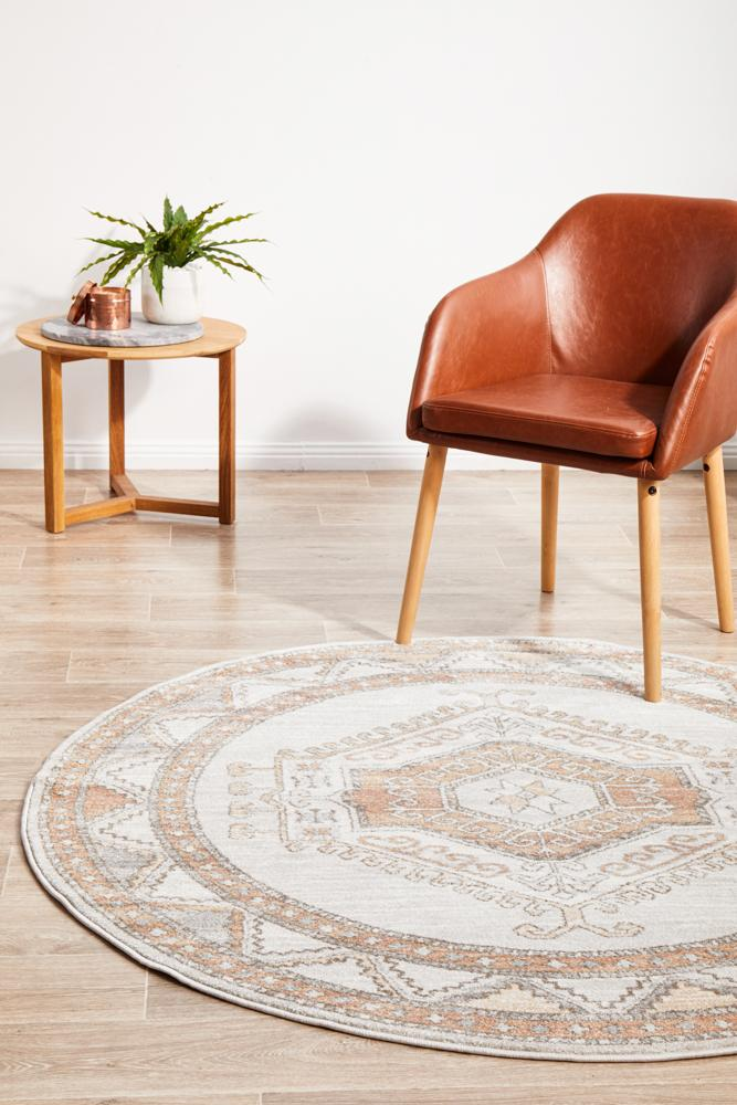 Mayday Catalan Natural Round Rug