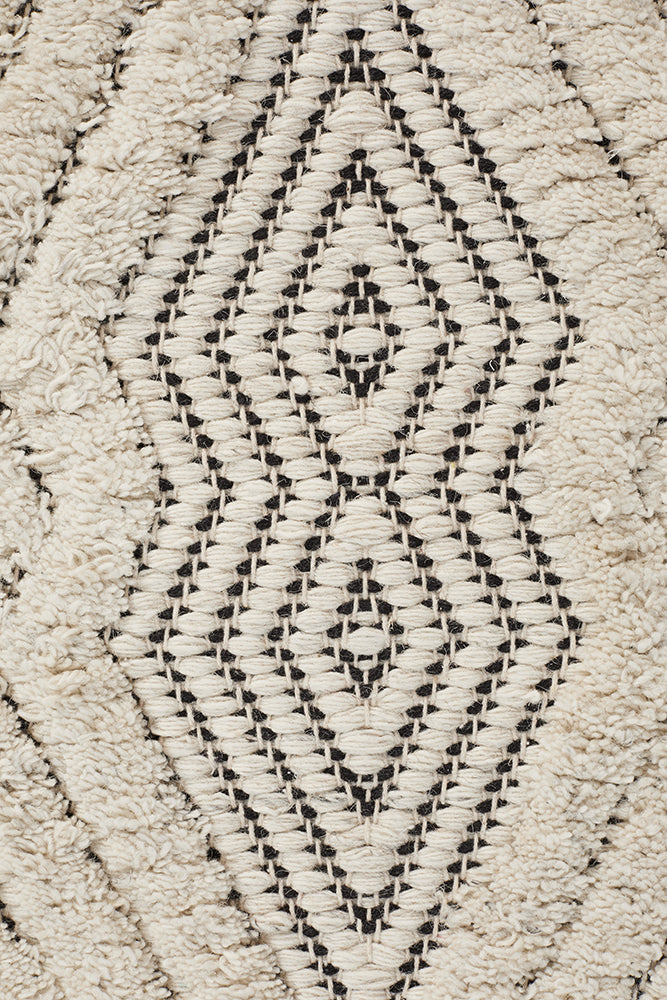 Rhythm Chime Bone Rug