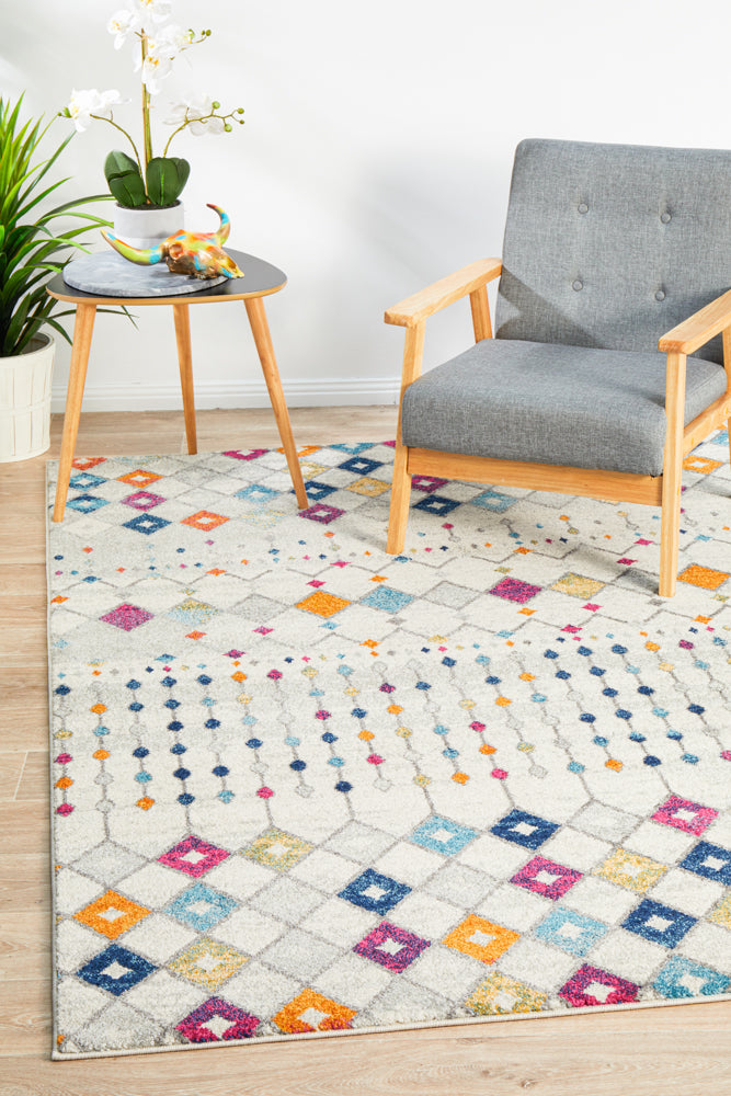 Peggy Tribal Morrocan Style Multi Rug