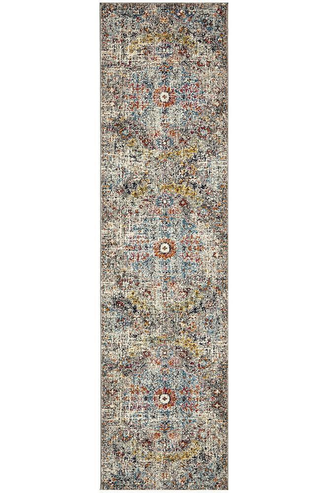 Cognitive Prado Multi Coloured Runner Rug
