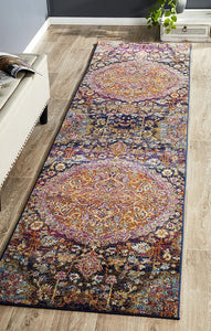 Vault Prado Multi Coloured Runner Rug