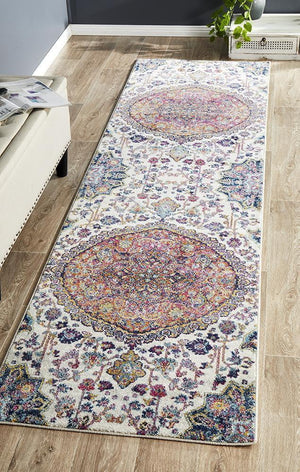 Botanical Prado Rust Runner Rug