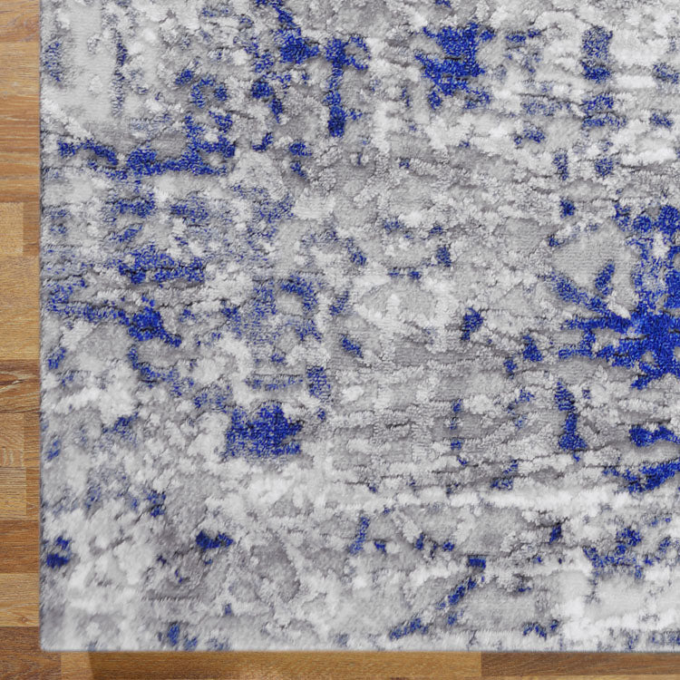 Unimaxim Point Blue Runner Rug