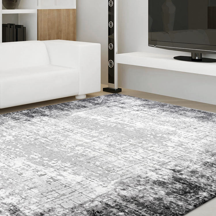 Unimaxim Theme Grey Rug