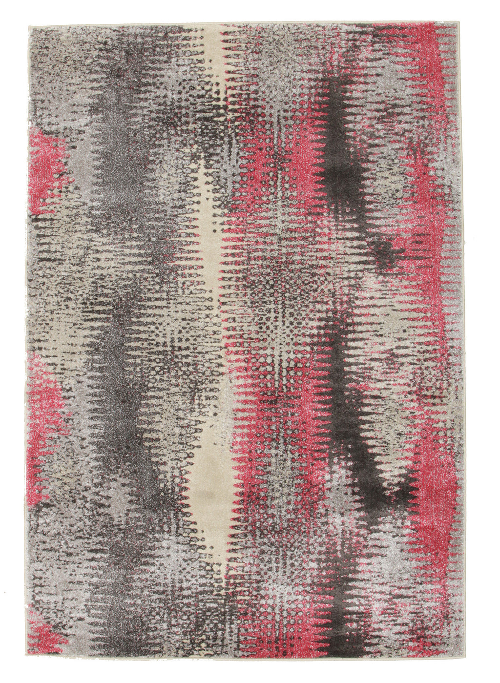 Hannah Matrix Rug Pink Grey
