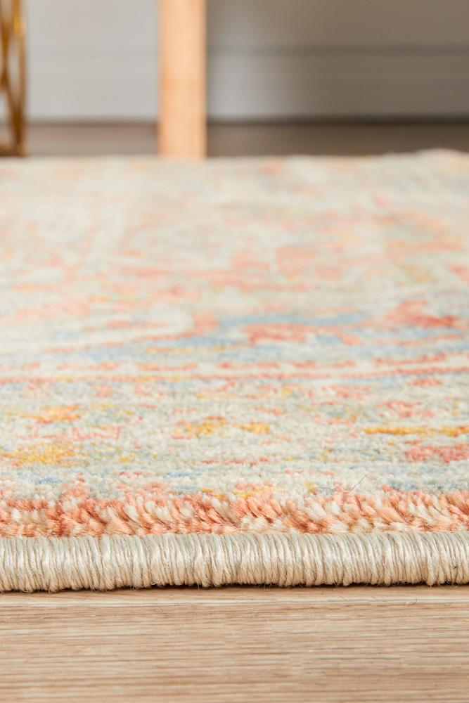 Soft  comfort Blue Runner Rug