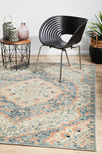 Soft  comfort Navy Blue Rug