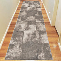 Odor Heather Beige Runner Rug