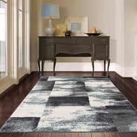 Odor Protea Blue Runner Rug