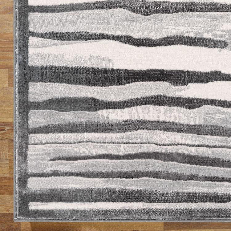 Creation Music Light Grey Runner Rug