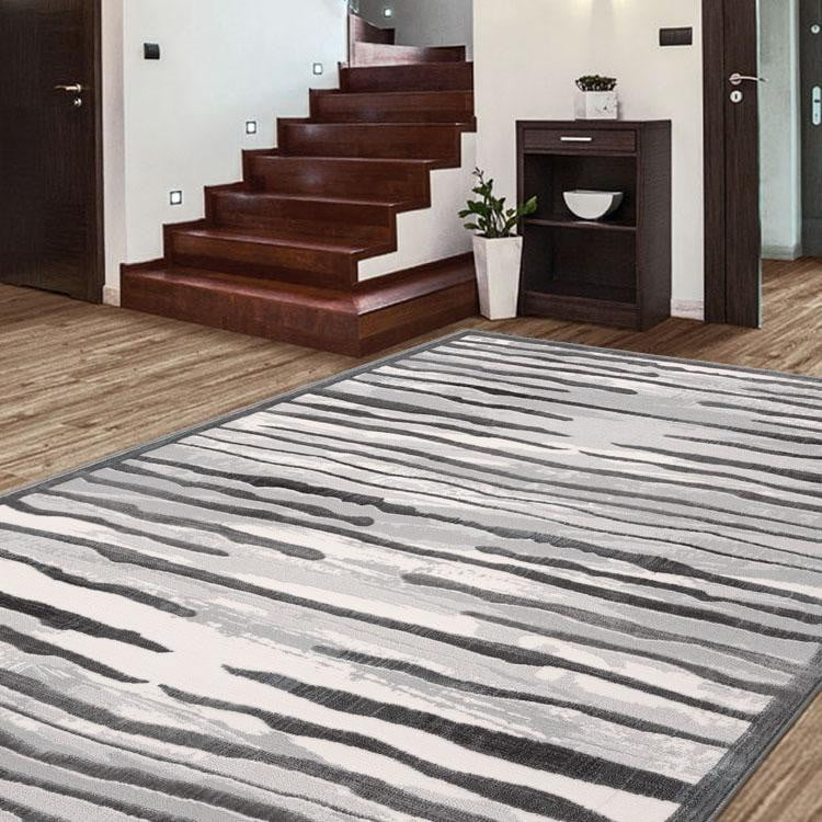 Creation Music Light Grey Rug