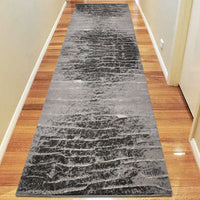 Fortune Lucre Ash Runner Rug