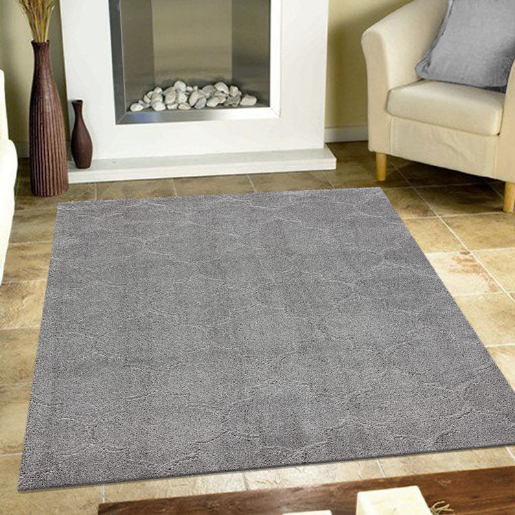 Land Steppe Grey Rug