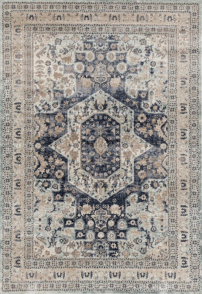 Esquire Brushed Blue Rug