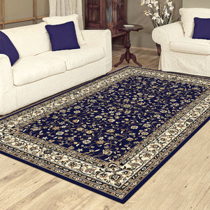 Palace Lavish Blue Rug