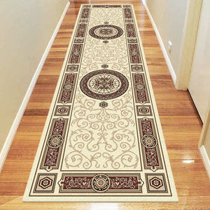 Palace Fancy Cream Runner Rug