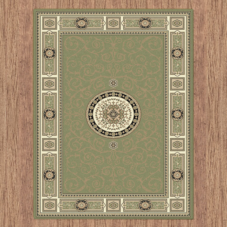 Palace Fancy Green Rug