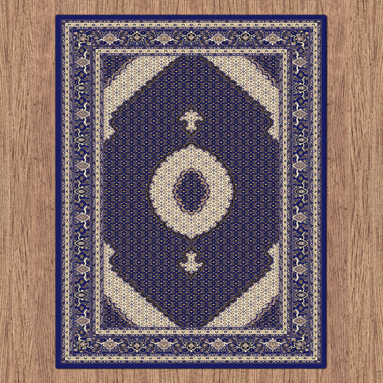 Palace Persian Fish Blue Rug