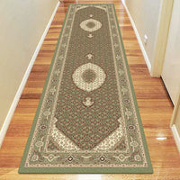 Palace Persian Fish Green Rug