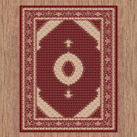 Palace Persian Fish Red Rug