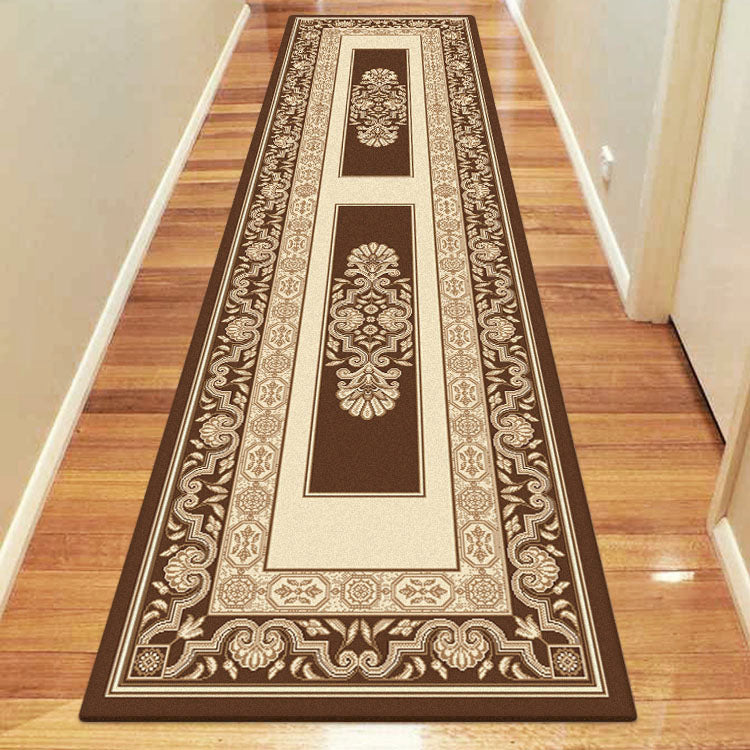 Palace Calm Brown Runner Rug