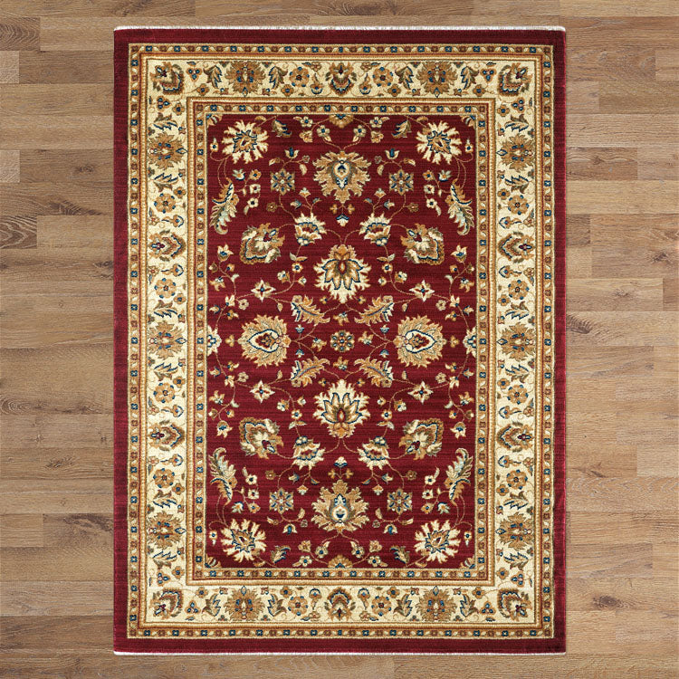Persian Ethnic Red Rug