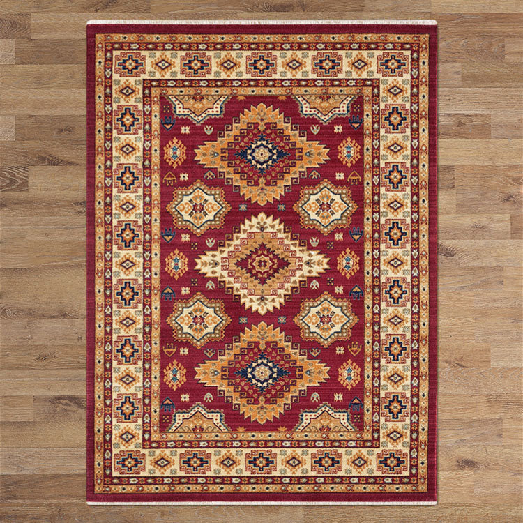 Persian Ancient Red Rug