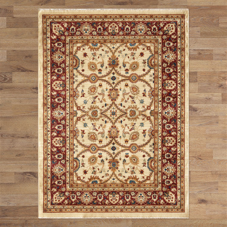 Persian Classical Ivory Rug