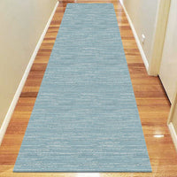 Polo Collection 3121 Blue Runner Rug