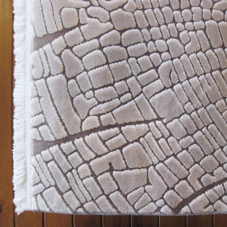 Polo Collection 3332 Beige Runner Rug