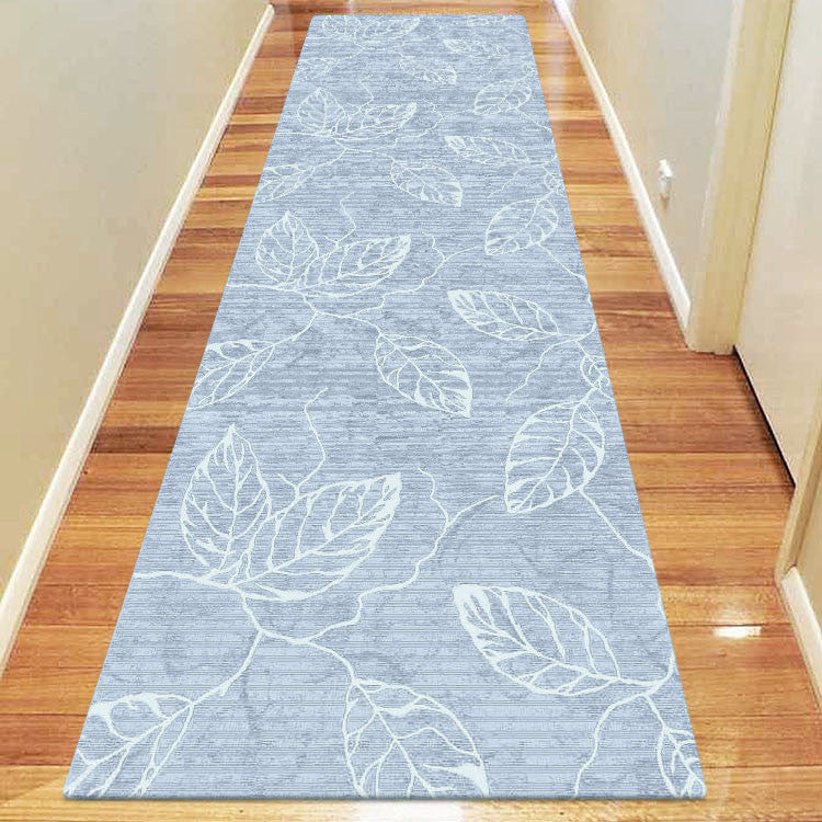 Polo Collection 3814 Blue Runner Rug
