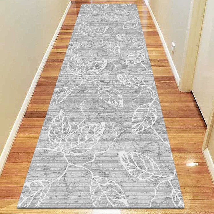 Polo Collection 3814 Grey Runner Rug