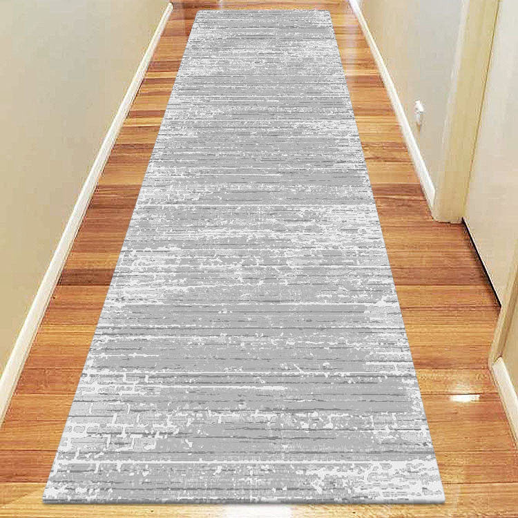 Polo Collection 3818 Grey Runner Rug