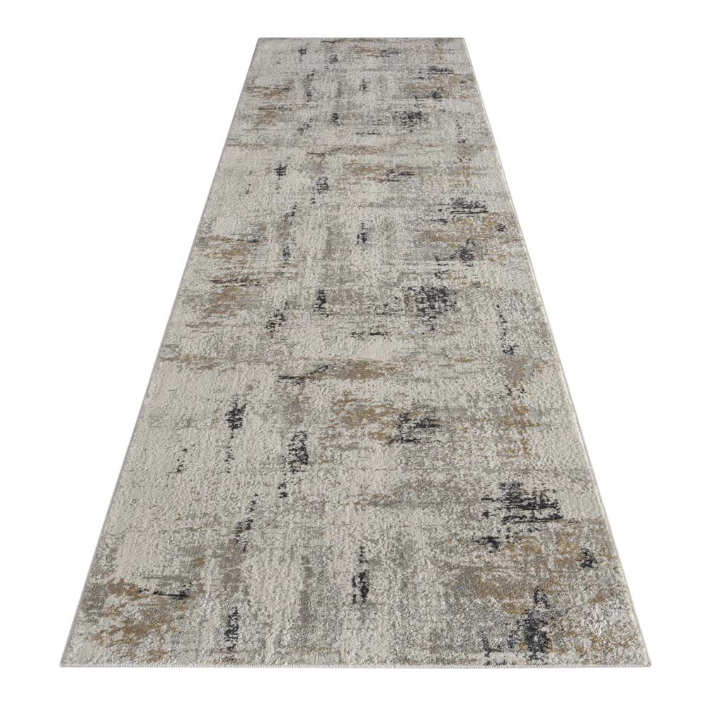 Portise Forest Grey Beige Rug