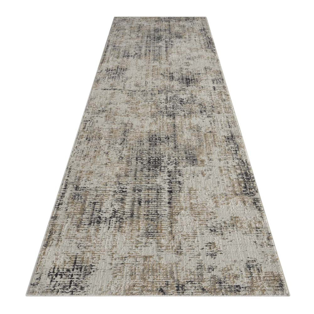 Portise Woodland Grey Beige Rug