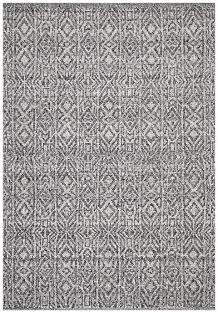 Artifact Samarmy Graphite Cobolt Grey Rug
