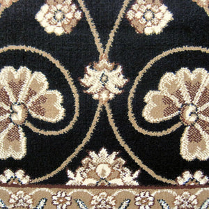 Nobel Glorious Black Runner Rug