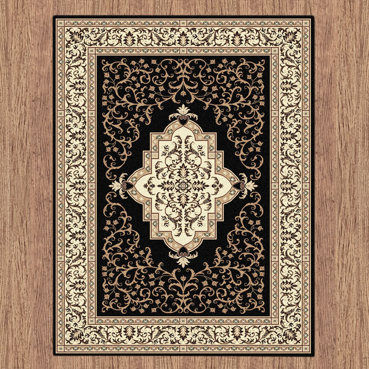 Nobel Queen Black Rug